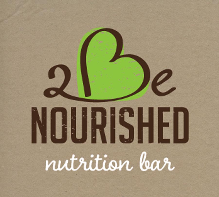 Branding and logo design for 2Be Nourished, Grafton