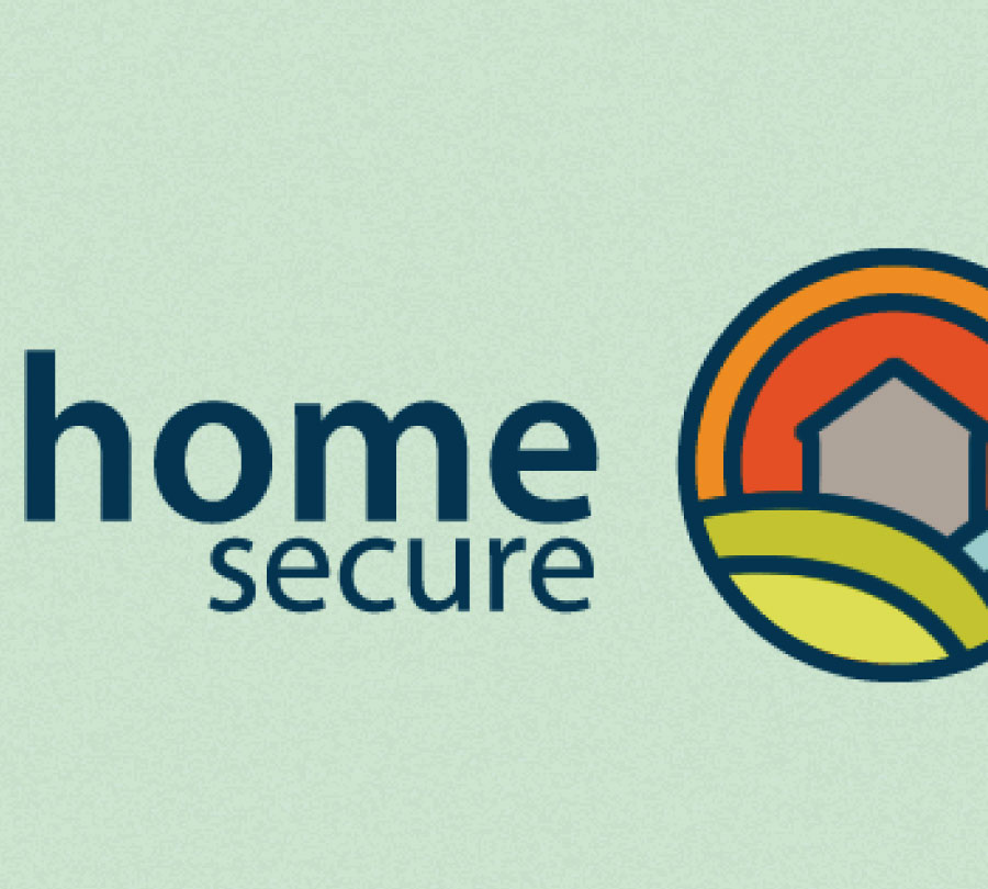Logo design for Home Secure, Grafton