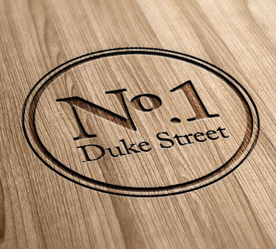 Duke St restaurant logo design, Clarence Valley