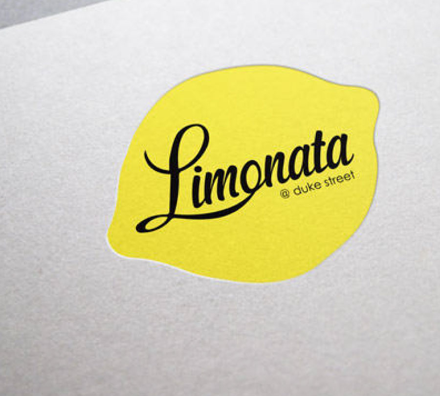 Limonata restaurant logo design, Grafton