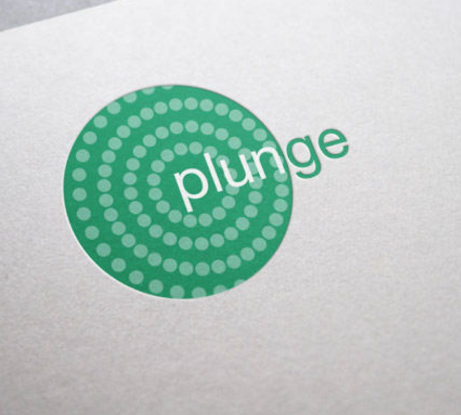 Plunge Festival logo design for Clarence Valley Council