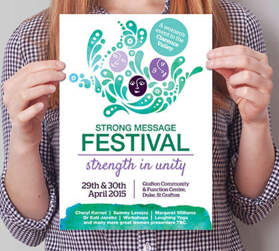 Poster design and print for local events